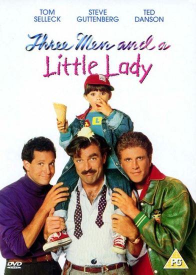 Trzech mężczyzn i mała dama / 3 Men and a Little Lady (1990) PL.AC3.DVDRip.XviD-GR4PE | Lektor PL