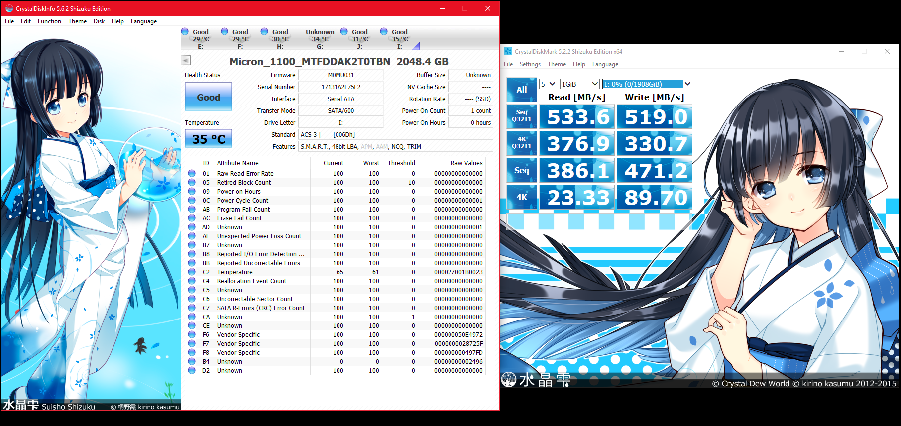 Mini Review on the Micron 1100 SSD | AnandTech Forums