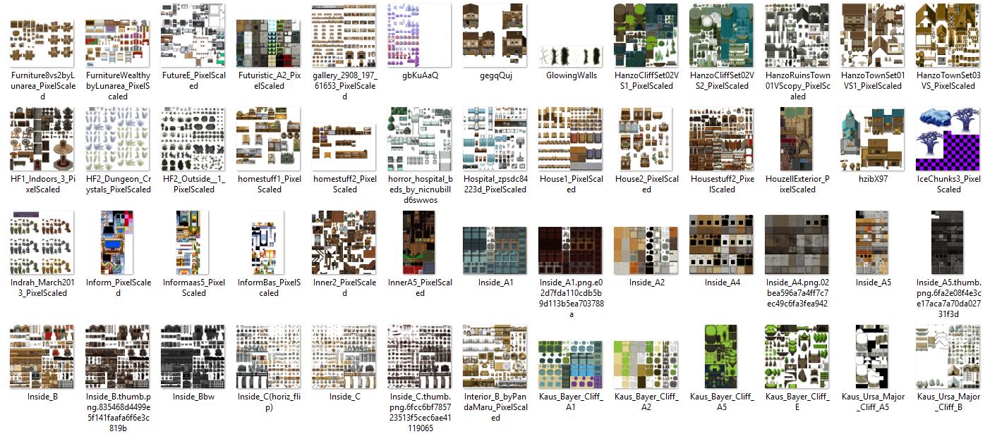 1350 Tilset varié (VX ACE et pour MV) Image10