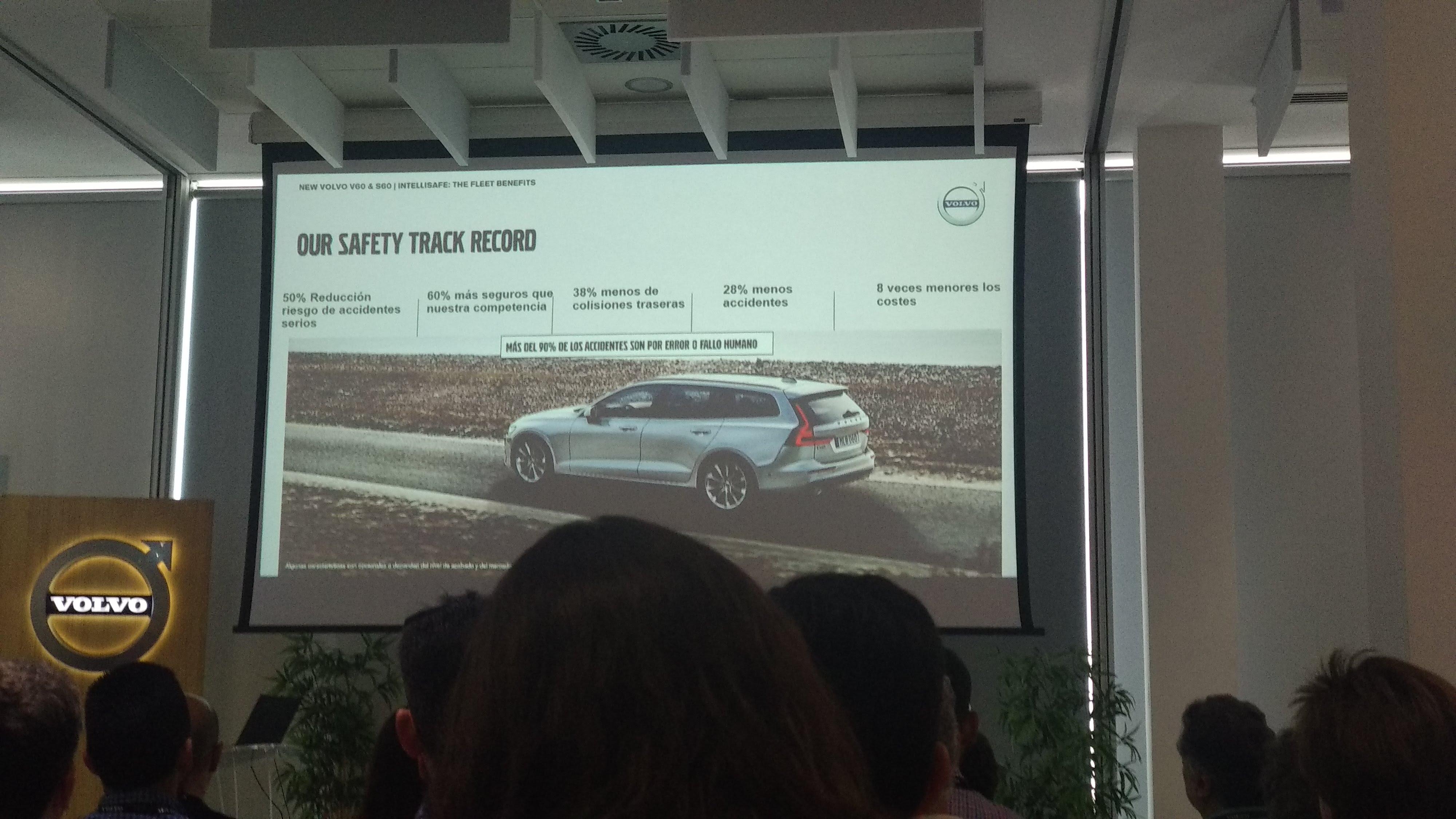 Curso de Conducción segura de Volvo 6