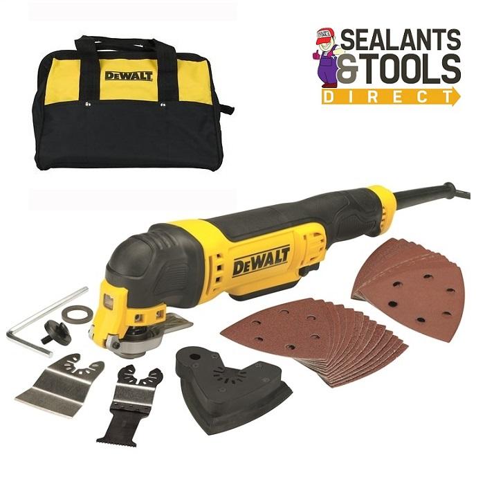 DEWALT DWE315-B Multi Function Multi Tool & Tool Bag 240v