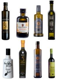 Aceite de oliva virgen extra Cornicabra, botellas de aceite de cristal