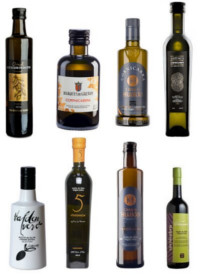 Olive oil extra virgin Cornicabra, glass oil bottles