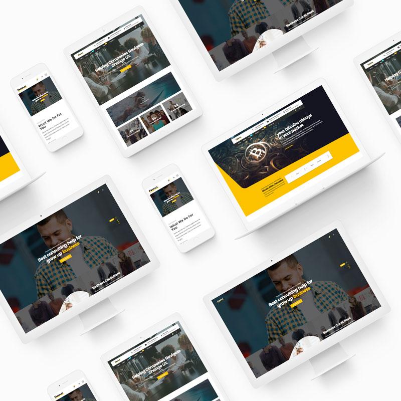 Dana - Corporate Business Multi-Purpose Responsive HTML5 Template - 2