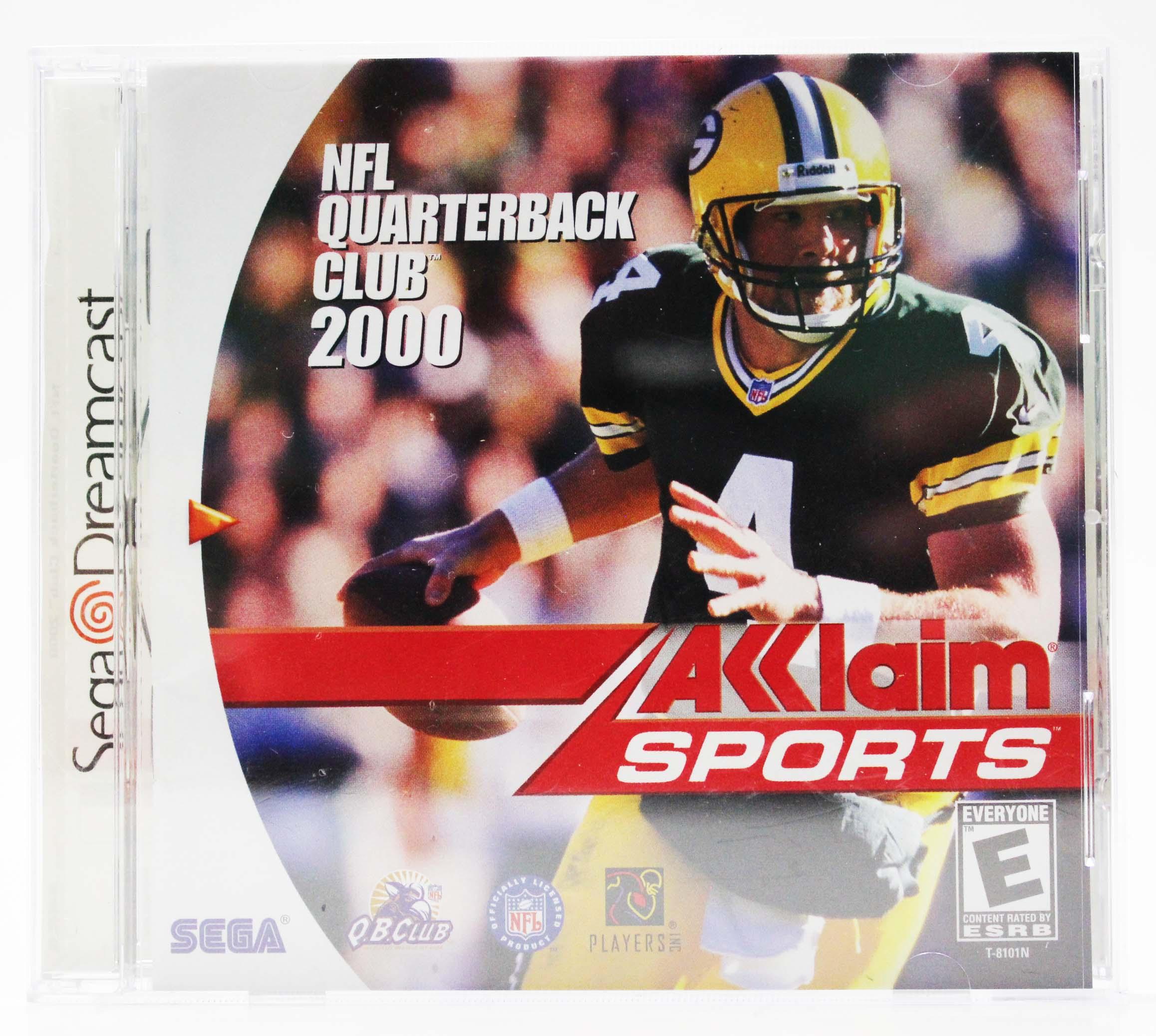 f5d2889f3 NFL Quarterback Club 2000 Sega Dreamcast 1999. Atlantis Plastics Plastic  Table Cover 54   x 108   Rectangle Red
