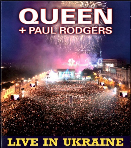 Queen + Paul Rodgers ‎– Live In Ukraine (2009) (CD / DVD9)