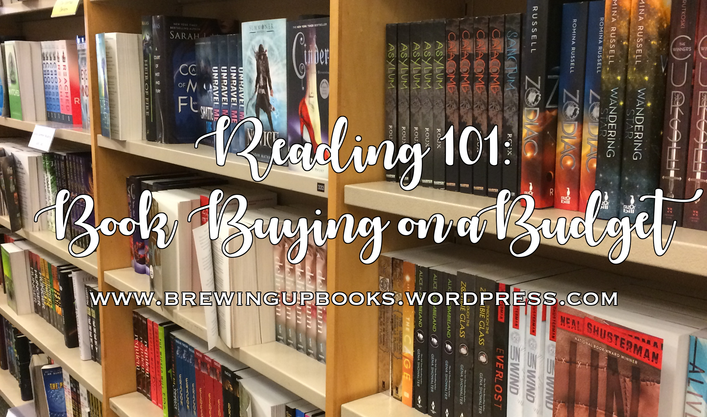 Book Buying on a Budget