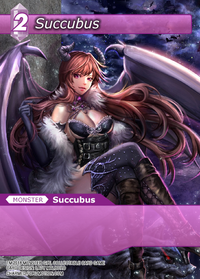 Monster Girl Collectible Card Profiles: Villainesses! - Page 3 Succubus