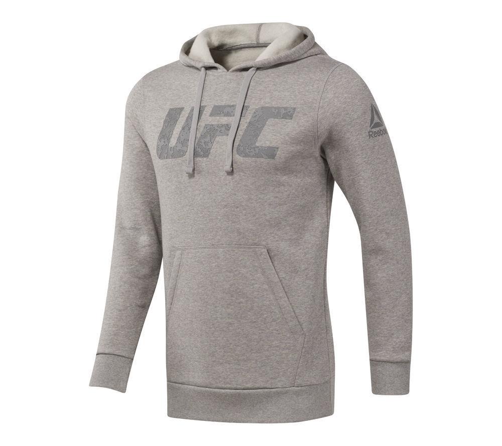 Худи Reebok UFC hood - серый Оригинал