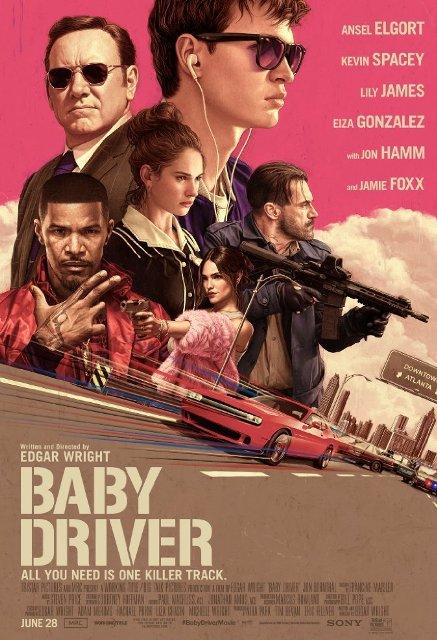 Baby Driver (2017) BluRay 720p 850MB