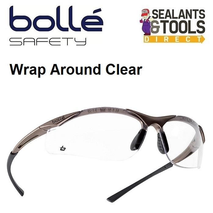 Bolle Wrap Around Contour Safety Glasses Contpsi