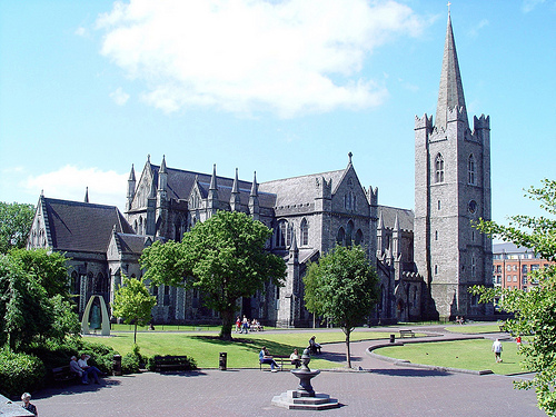 County Dublin St Patrick s Cathedral in Dublin