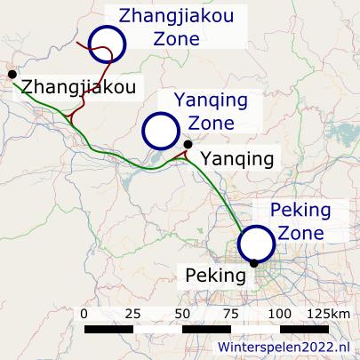 Sportlocaties en transport vernieuwingen Peking 2022