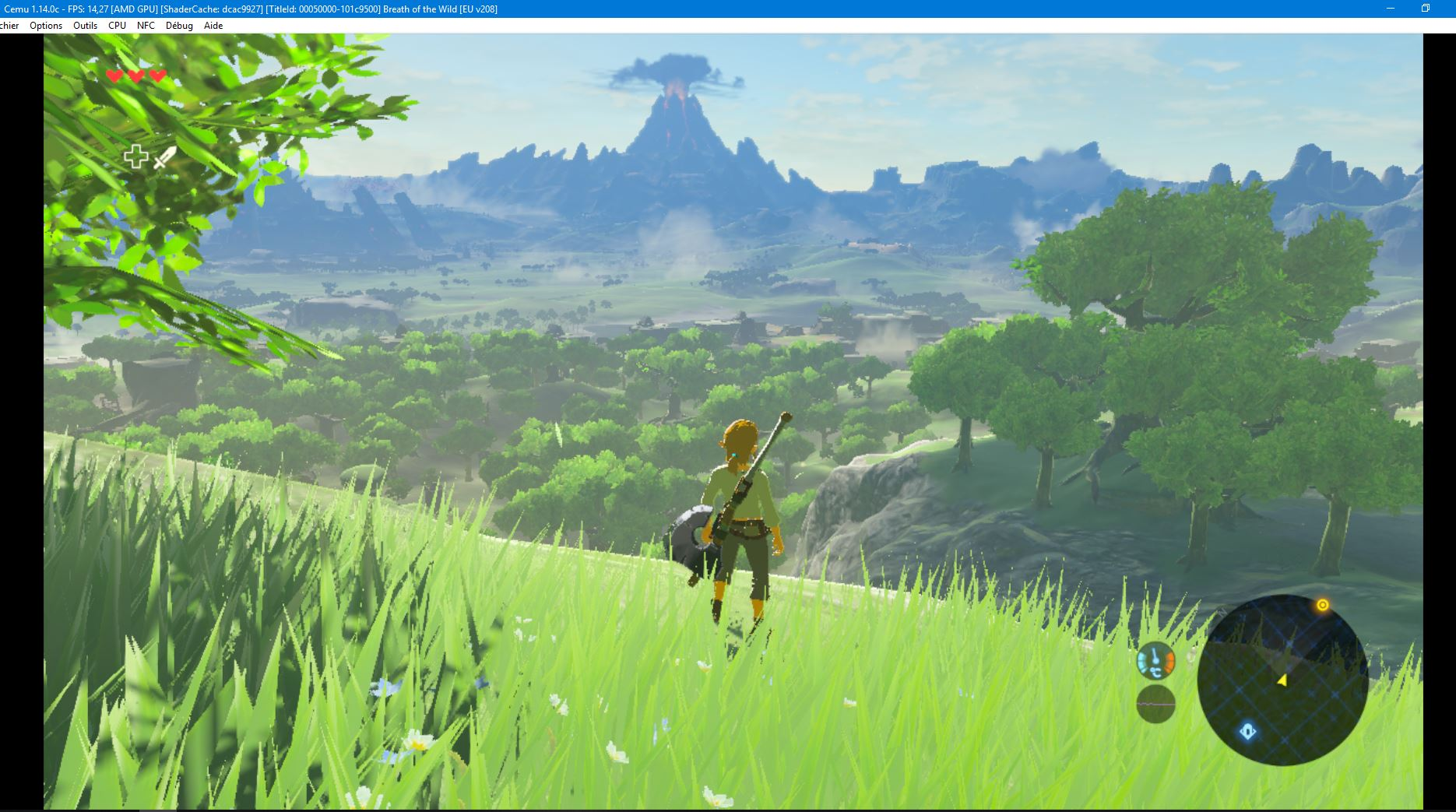 Emulation CEMU Zelda BOW Lenteur [RESOLU] Capture