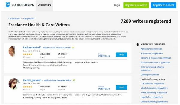 Which are the best freelancing/academic writing sites?