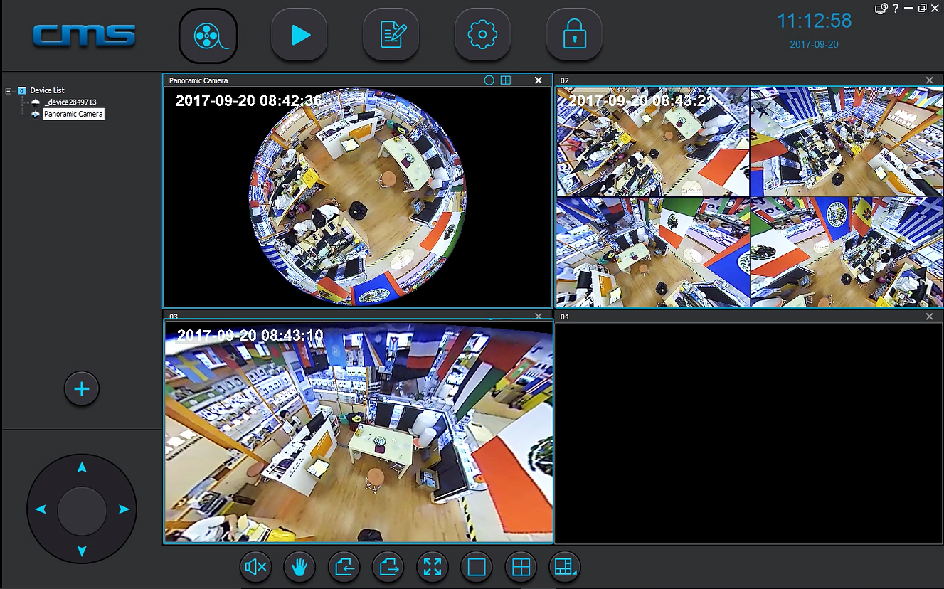 CMSClient PC Software Can Manage Multiple Yoosee Cameras Simultaneously