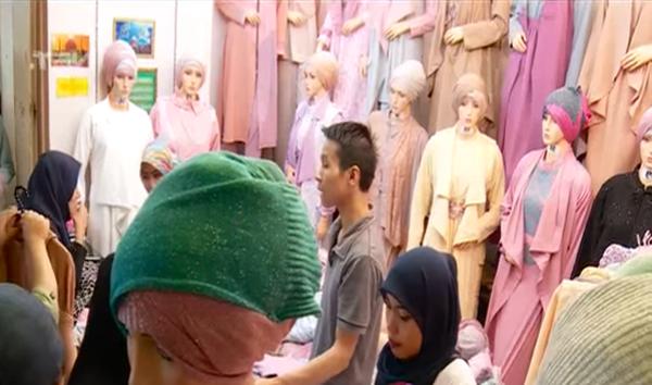 toko jual beli pakaian busana muslimah