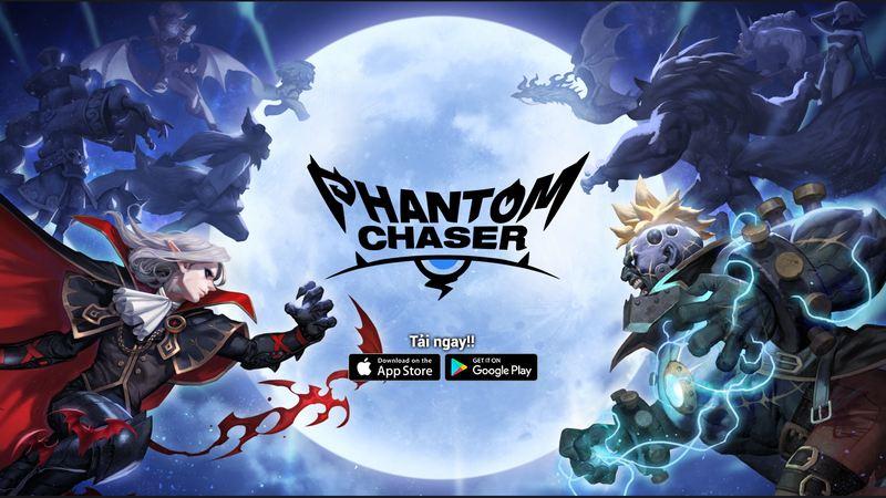 Phantom Chaser: Hình ảnh đẹp, kho tướng đa dạng, gameplay thẻ tướng kết hợp RPG