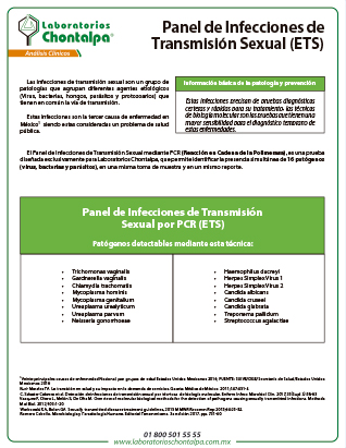Panel de Infecciones de Transmisión Sexual