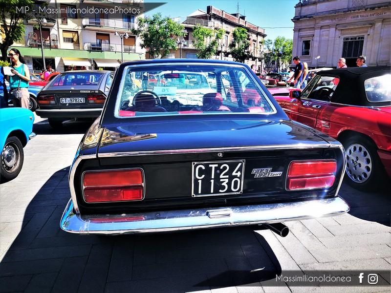 Raduno auto e moto d'epoca San Giovanni La Punta Fiat_124_Sport_Coup_CT241130_2