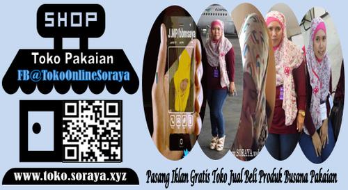 Toko Online Gratis Jual Beli Produk Pakaian Soraya