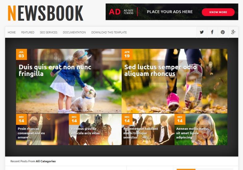 News_Book_Blogger_Template