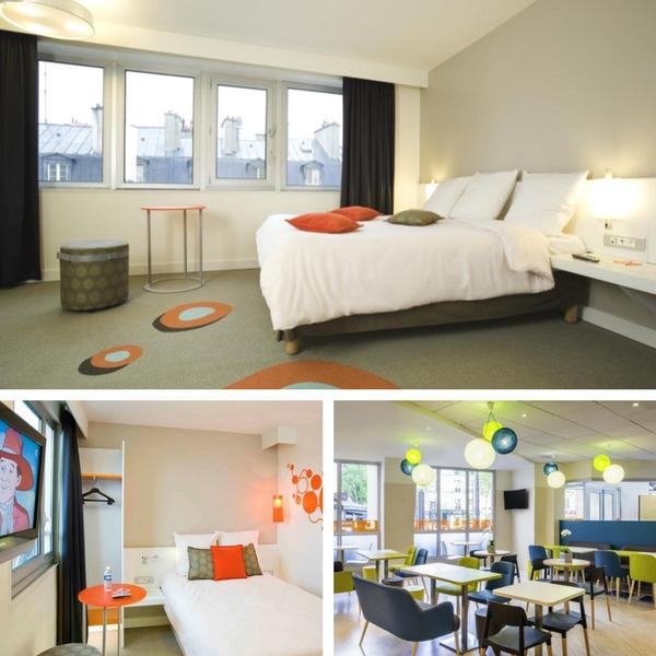 Mejores hoteles baratos en París - conpasaporte.com - Ibis Styles Paris Gare de l'Est Chateau Landon