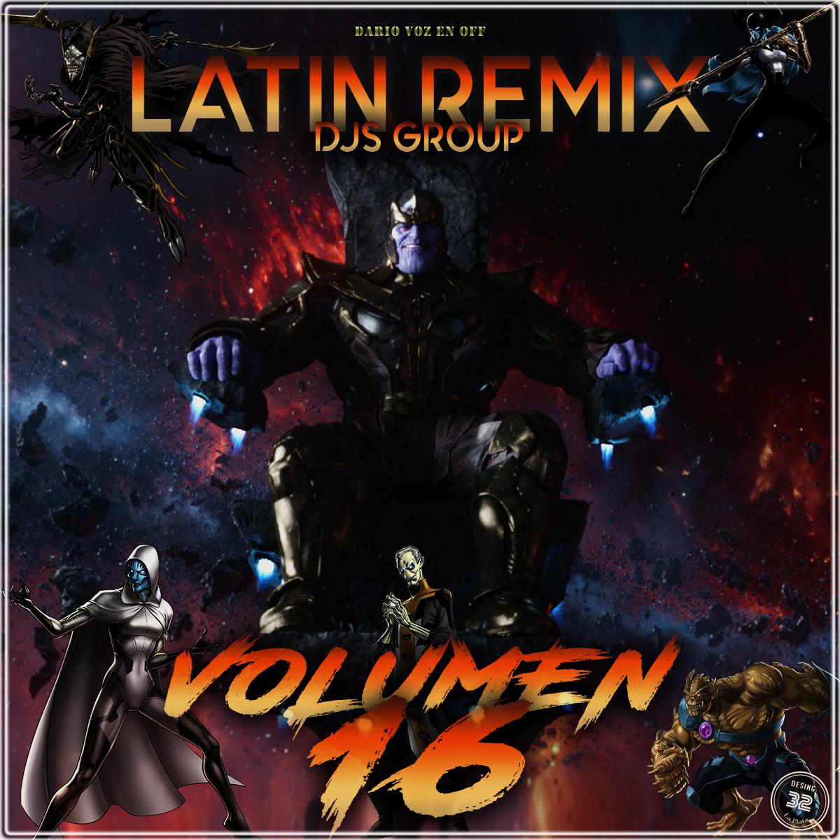 Latin Remix Djs Group Vol 16 - 2018
