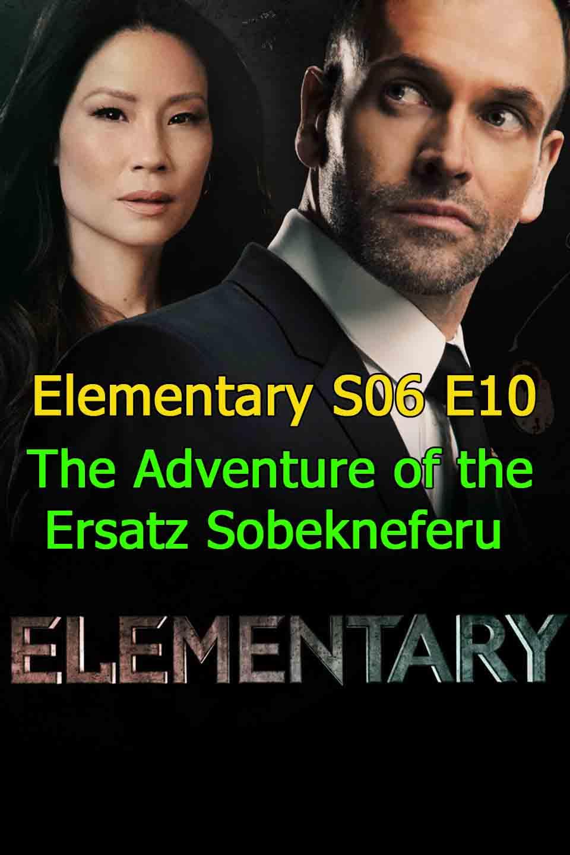 Watch Elementary Season 6 Episode 10 The Adventure of the Ersatz Sobekneferu thumbnail