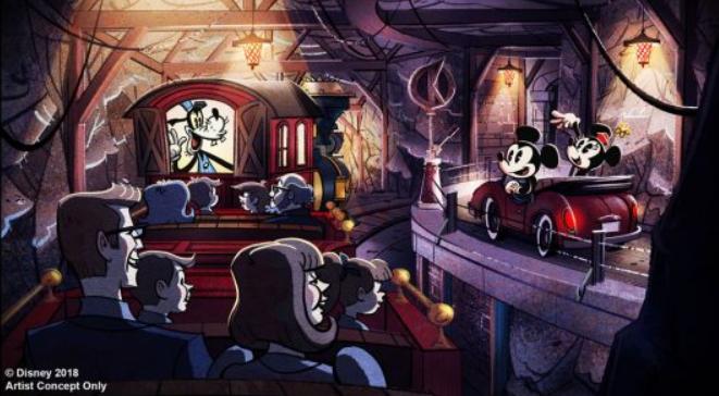 Mickey and Minnie's Runaway Railway at Walt Disney World