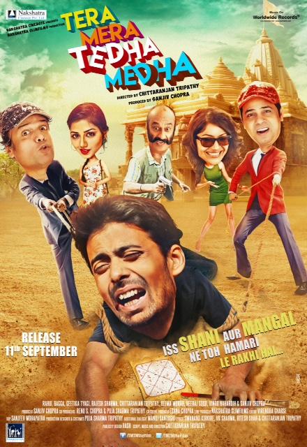 Tera Mera Tedha Medha (2015) Hindi 720p HDRip 800MB