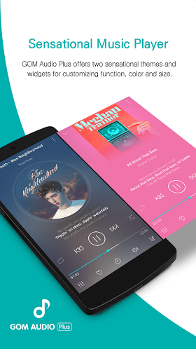 GOM Audio Plus - Music, Sync lyrics, Streaming 2.1.5 build 44 (Paid) APK