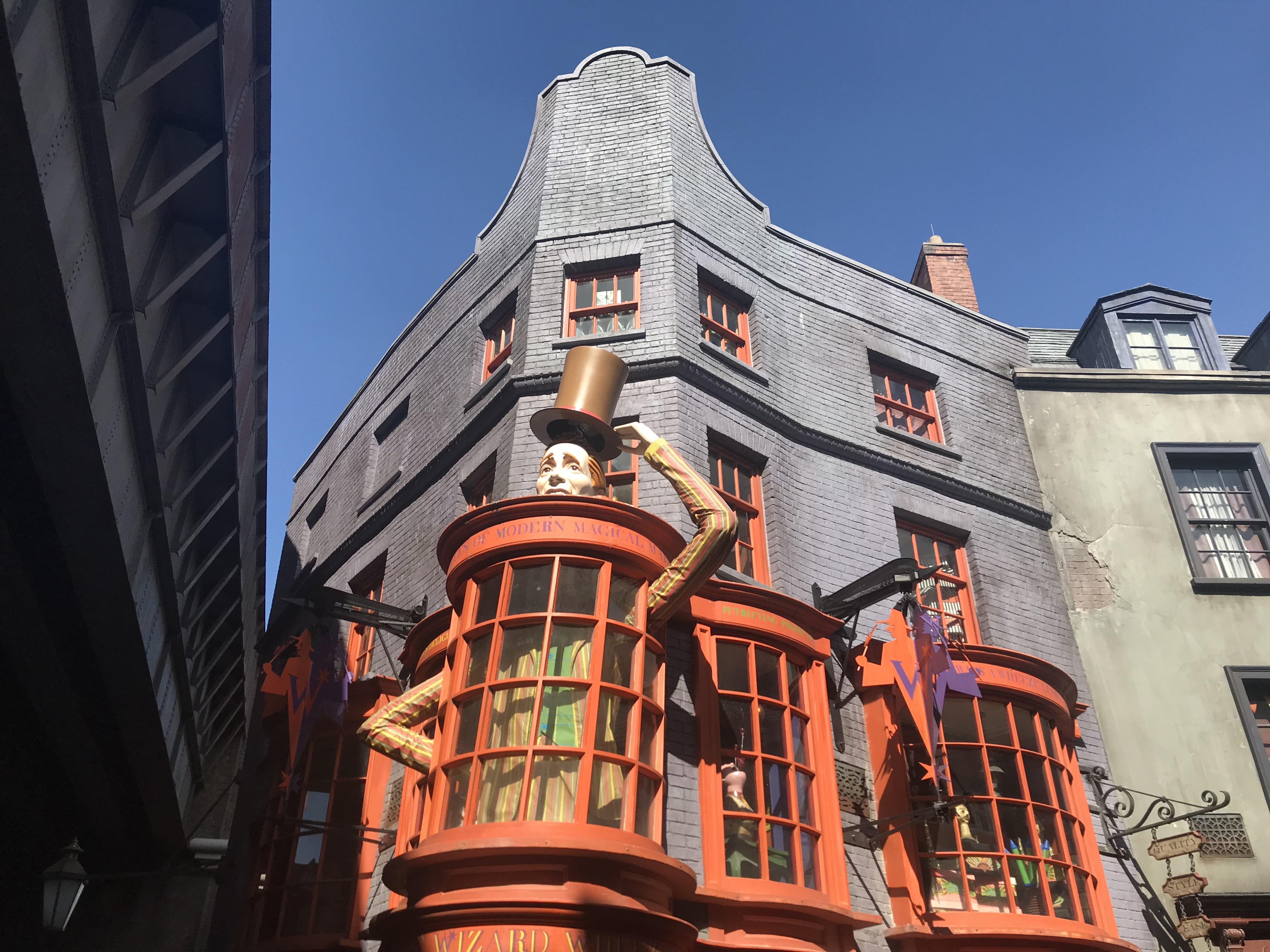 Weasley's Wizard Wheezes Diagon Alley