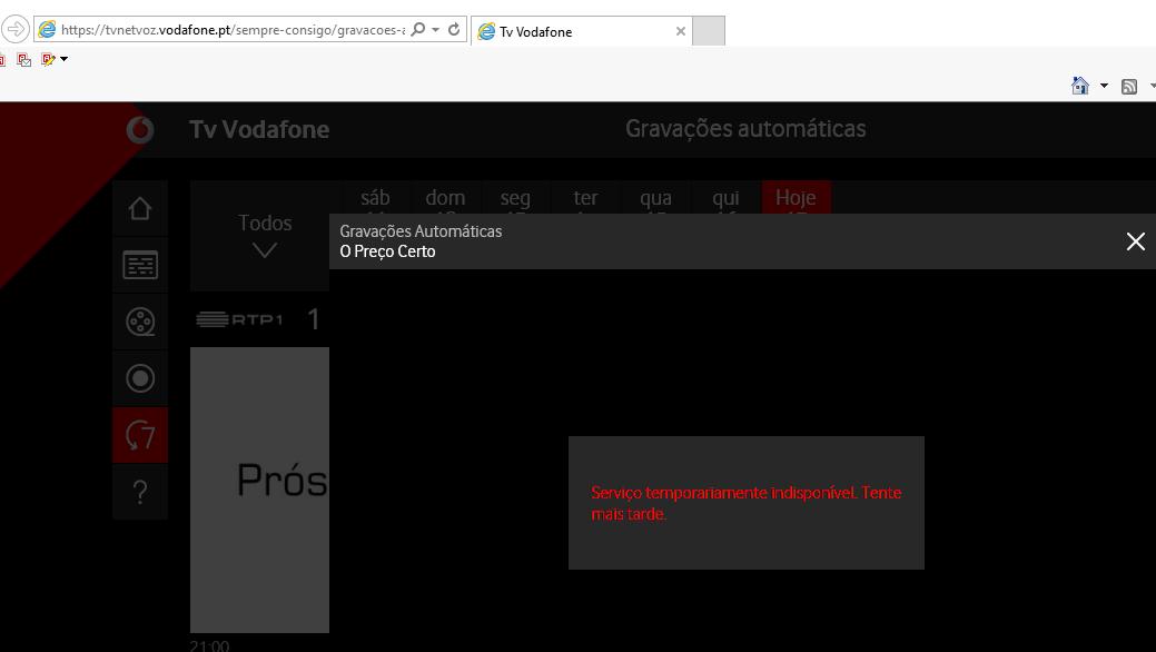 vodafone tv no funciona