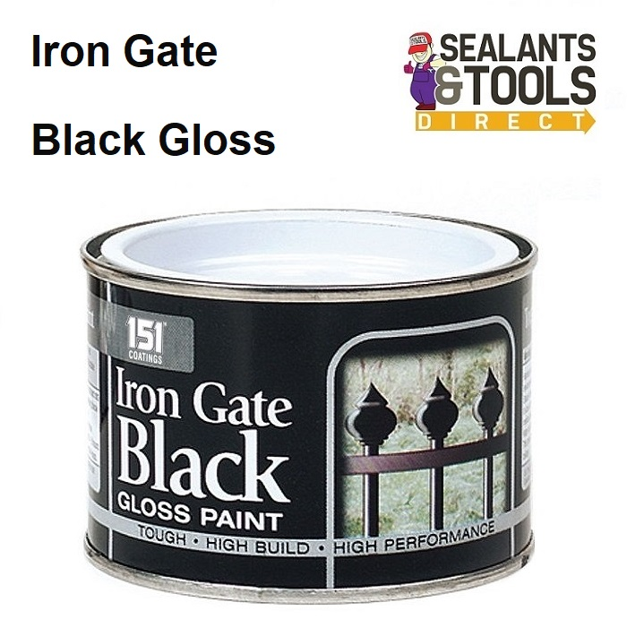 151 Iron Gate Black Gloss Paint 180ml DY014A