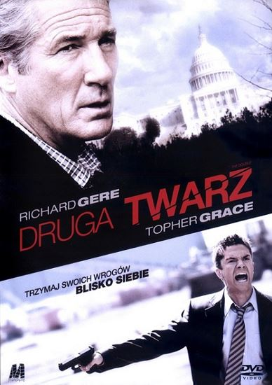 Druga twarz / The Double (2011)  PL.AC3.DVDRip.Xvid-GR4PE / Lektor PL