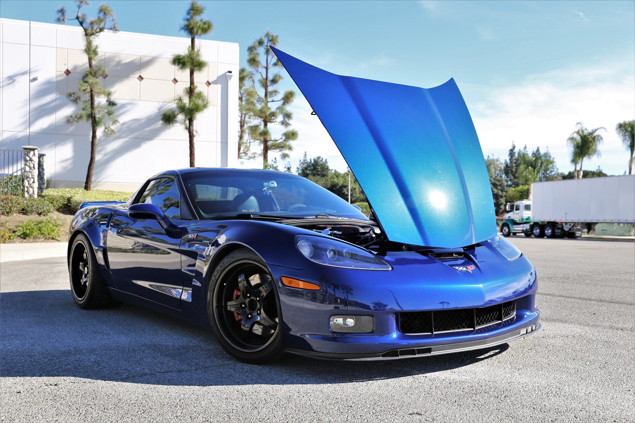 Fs 2007 Corvette C6 Zr1 Style Lsx 454 Motor Lemans Blue Ls2 Wiring Harness Im A Motivated Seller But In Not Major Rush To Sell Please Dont Waste Your Time Or Mine With Ridiculous Offers