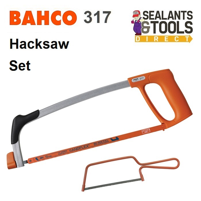 Bahco 317 Hacksaw Twin Set Real Deals For You