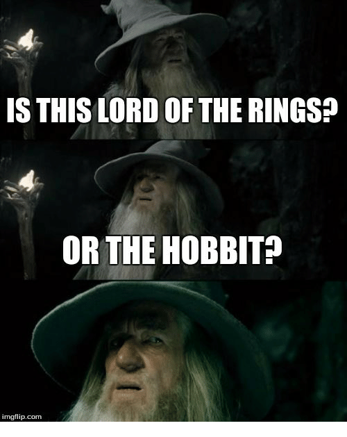 gandalf don t know