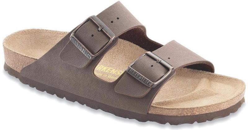 Birkenstock Arizona Birko Flor Da Uomo Sandali calzatureMarrone Scuro Tutte Le Taglie
