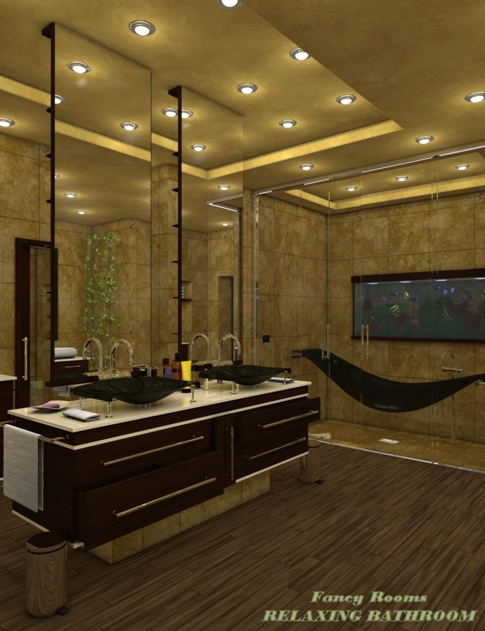 Fancy Rooms – Relaxing Bathroom