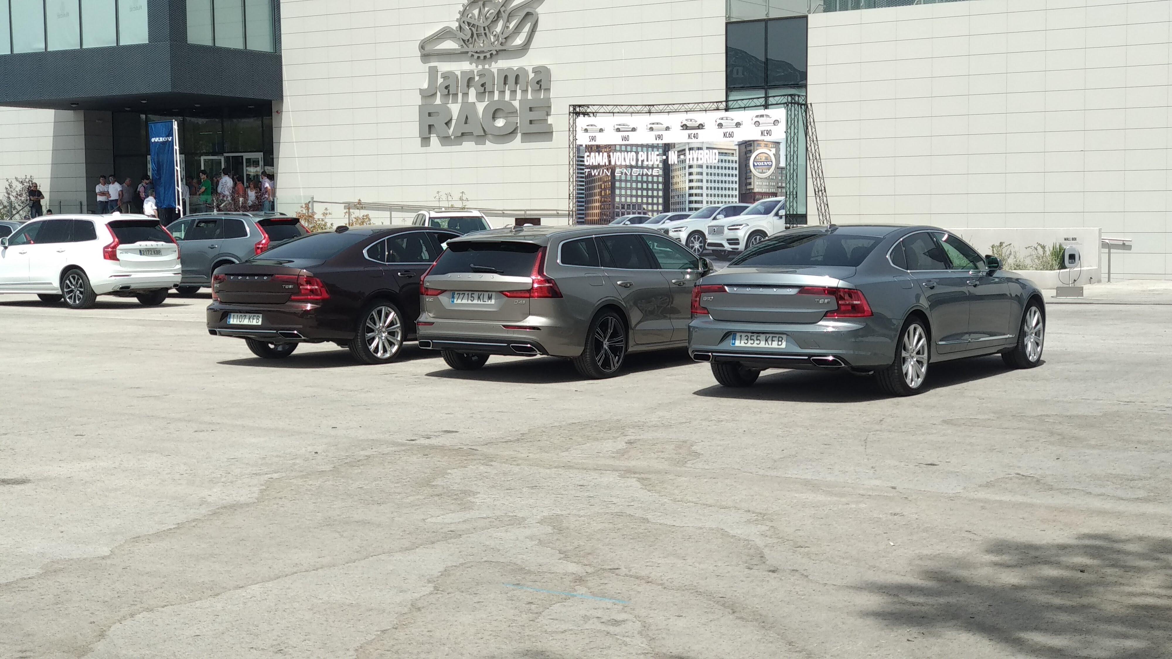 Curso de Conducción segura de Volvo 14