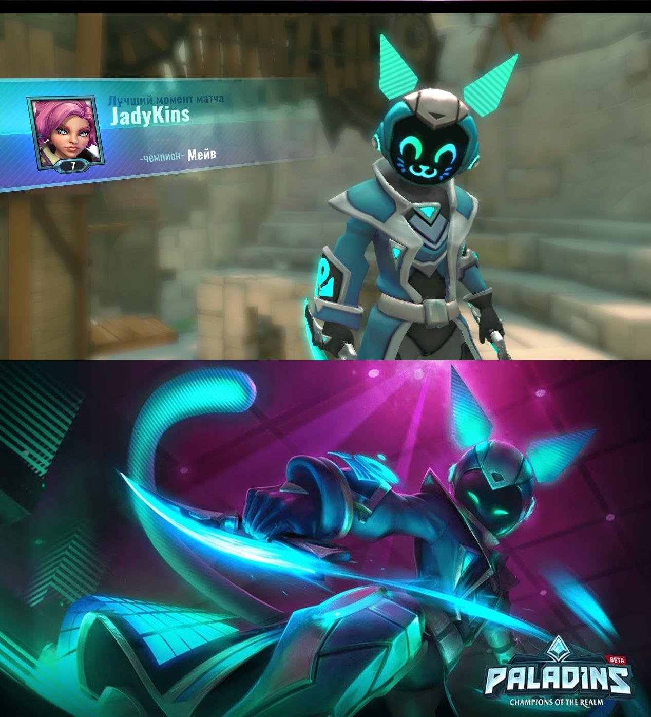 Art VS Realitty, Which Is Better? : Paladins