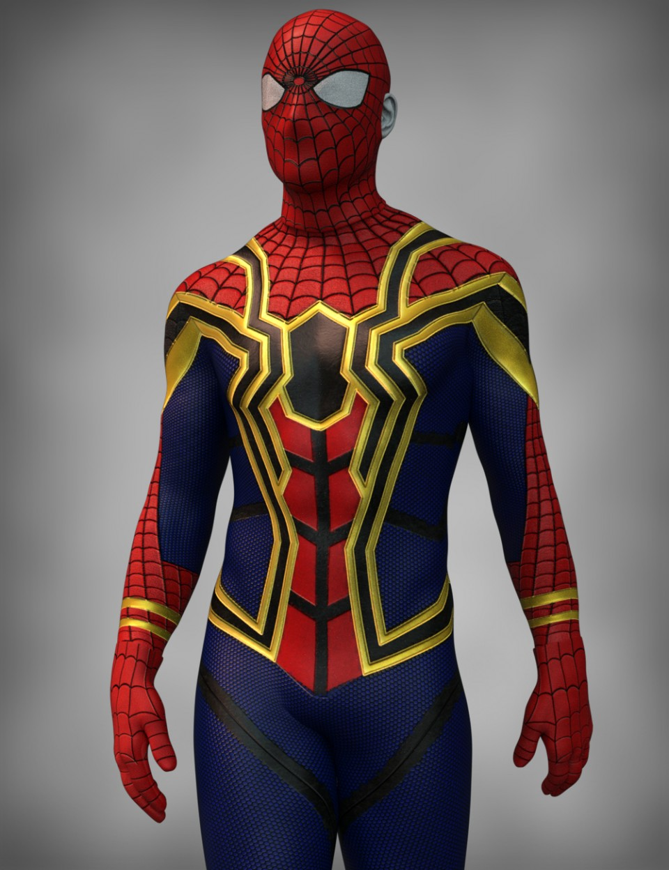 X-Fashion Arachnid Outfit for Genesis 8 Male(s)