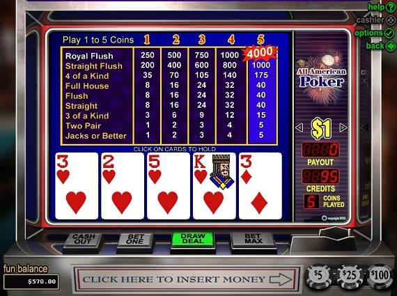 All USA Online Casino Games
