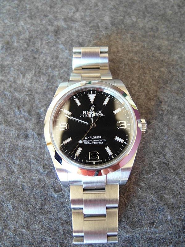 Rolex Explorer 02