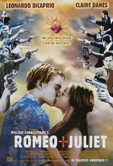 Romeo + Juliet (1996) BluRay 720p 1.1GB