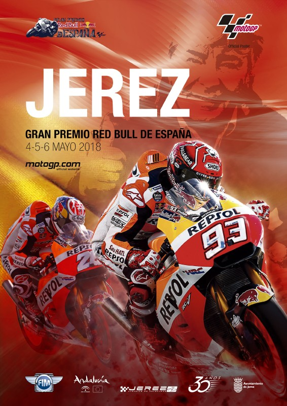 MOTOGP GRAND PRIX JEREZ SPAIN RACE EVENT POSTERS