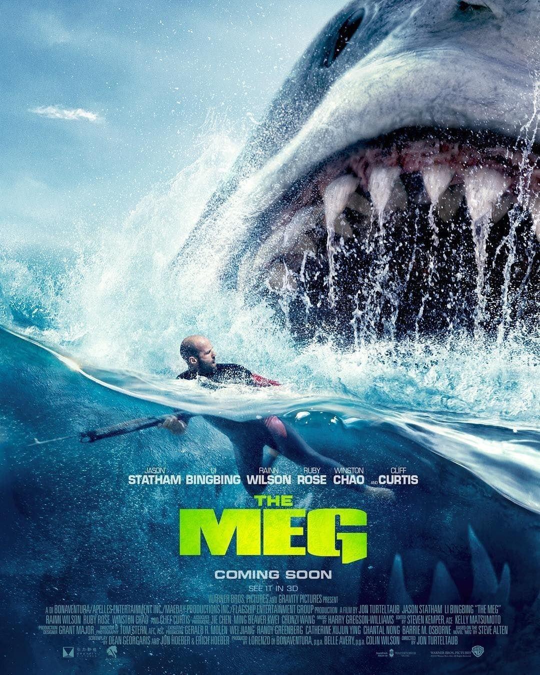 The Meg (2018) 720p HC HDRip x264 750MB MKV - Doridro com