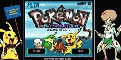 Pokemon Black and Blue PETA